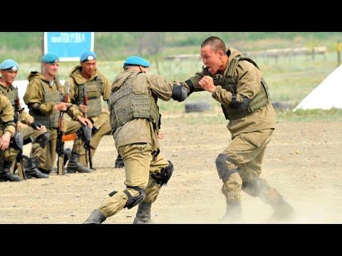 Сильные, смелые: десантники в рукопашном бою
