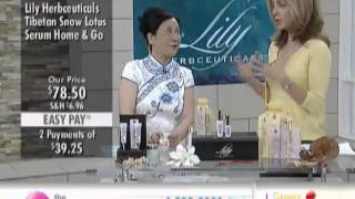 Lily Herbceuticals Snow Lotus Skin Luminous Serum Home & Go Duo at The Shopping Channel 460826