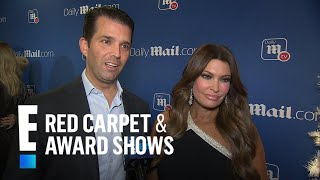 Donald Trump Jr. & Kimberly Guilfoyle Talk First Christmas Together | E! Red Carpet & Award Shows