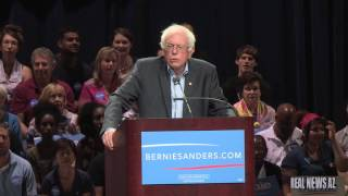 Bernie Sanders Discusses Racism to 11,000 in Phoenix Az.