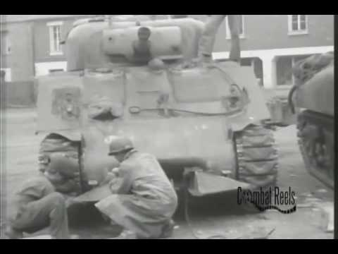 3rd Armored Division in Normandy France 1944, World War II