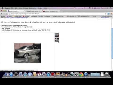 craigslist orange county used antique cars and trucks available youtube. Black Bedroom Furniture Sets. Home Design Ideas