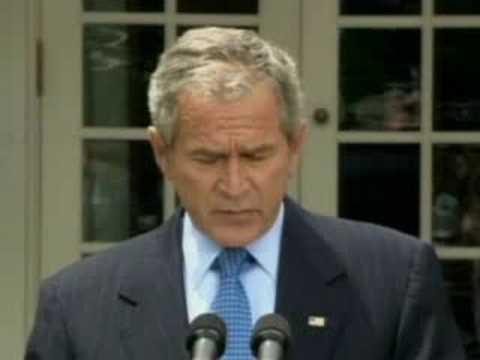 Bush On Off-Shore Drilling