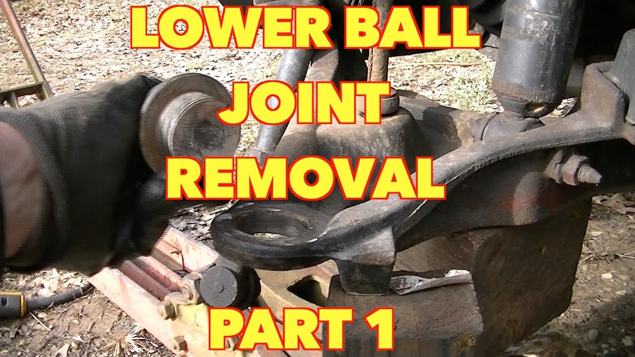 Front Lower Ball Joint Replacementford Expedition Mountaineer Explorer Part 1