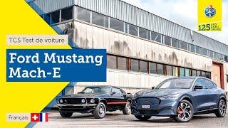 TCS Test de voiture - Ford Mustang Mach-E AWD - Essai 2021