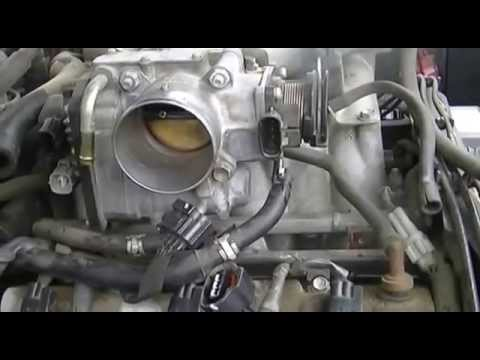 1 of 3 Throttle body cleaning Toyota 4runner  YouTube