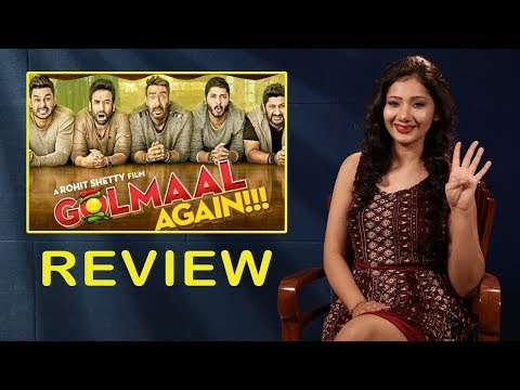 Golmaal Again Movie Review By Pankhurie Mulasi | Ajay Devgn, Parineeti Chopra, Arshad Warsi