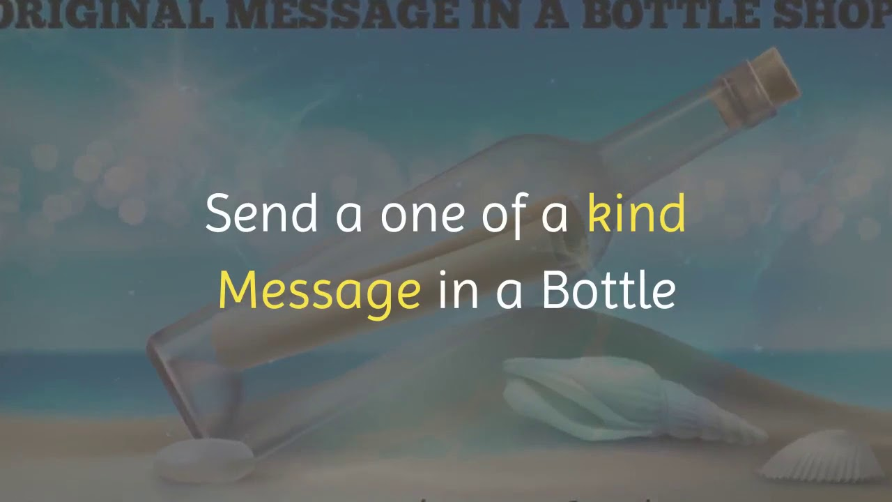 5c77d8c69ef Message in a Bottle - Gifts, Invitations, Design it yourself Bottle
