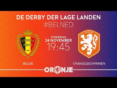 LIVE: België - OranjeLeeuwinnen