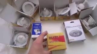 видео Точечные светильники для гипсокартонных потолков: основные варианты.