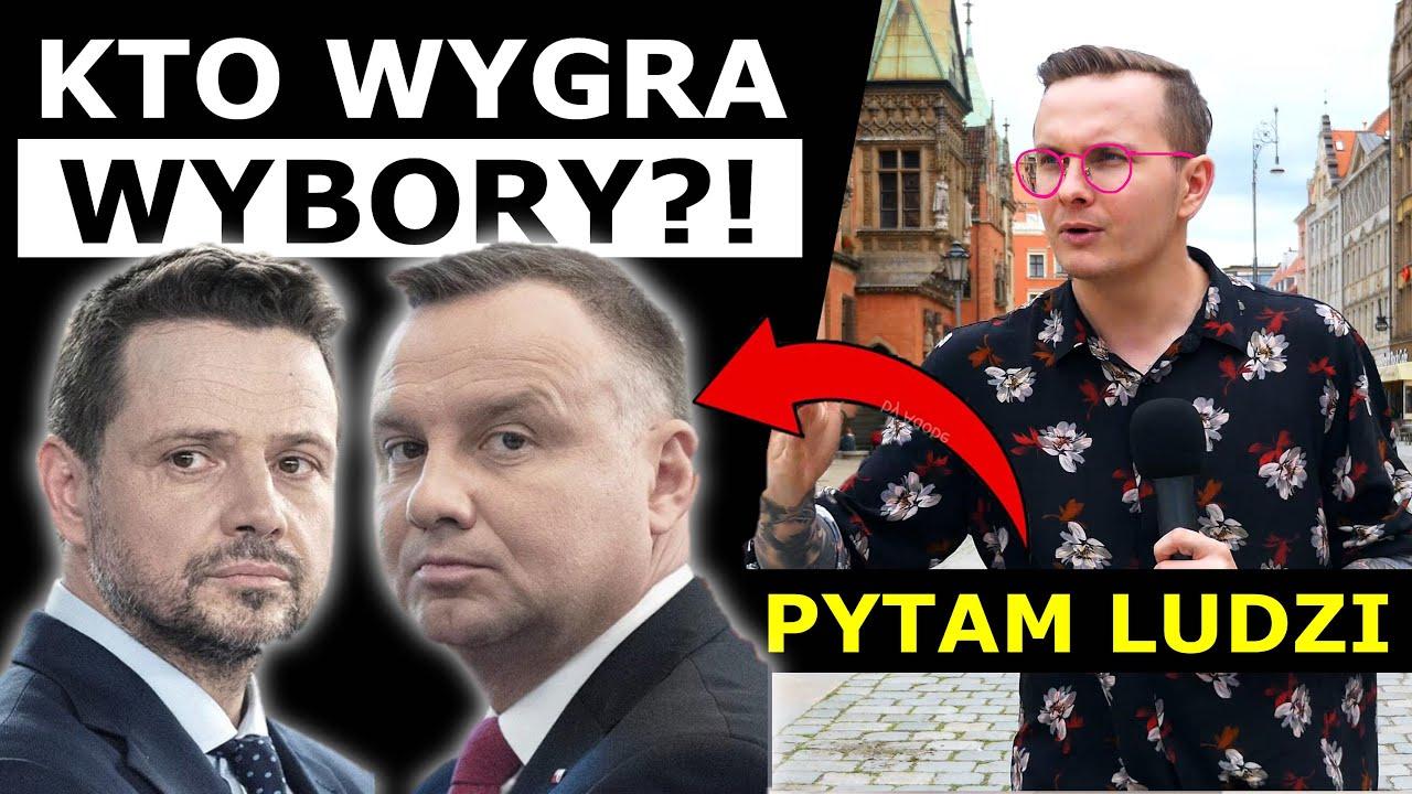 ANDRZEJ DUDA CZY RAFAŁ TRZASKOWSKI - NA KOGO ZAGŁOSUJĄ POLACY?!