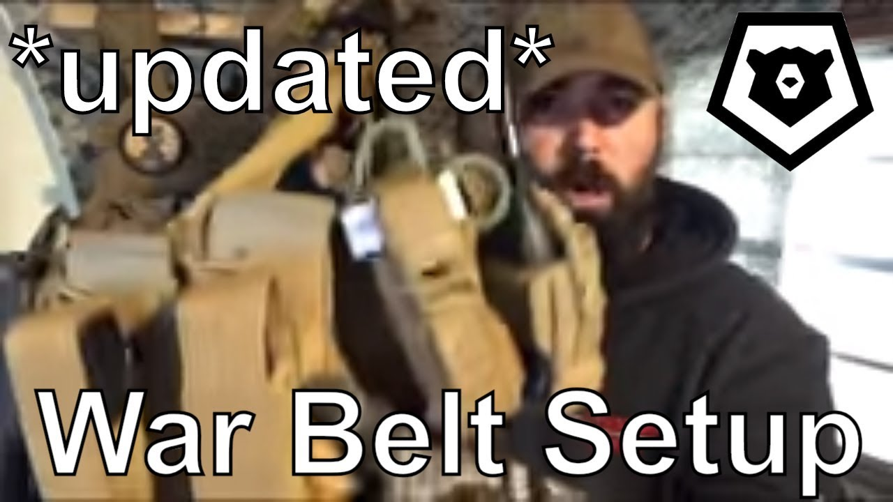2019 War Belt Setup SHTF Minuteman Militia Gear