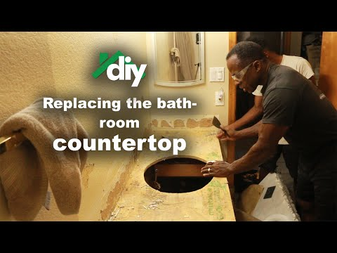 dr-gene-james--diy-replacing-a-bathroom-countertop