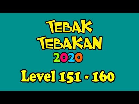 Kunci Jawaban Tebak Tebakan 2020 Level 151 152 153 154 155 156 157 158 159 160 Bahasa Indonesia Youtube