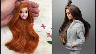 Peinados Color de Cabello Barbie 😱 ♥ Amazing Barbie Hair Color Transformations