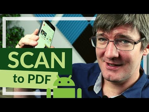How To SCAN Documents To PDF On ANDROID