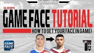 GAME FACE TUTORIAL - How To Get Your Face In Game! (EASports)