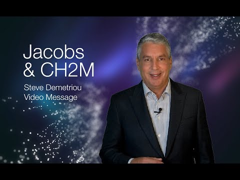 Jacobs & CH2M  - Steve Demetriou Video Message