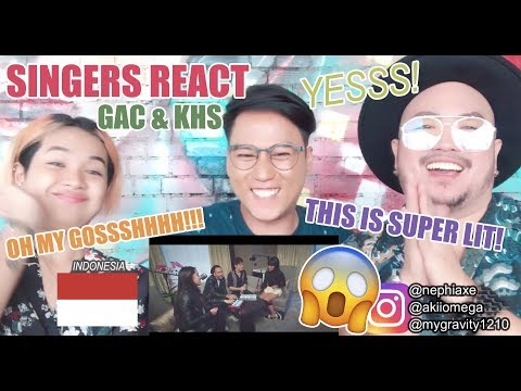 [SINGERS REACT] Perfect - One Direction - GAC & KHS Cover