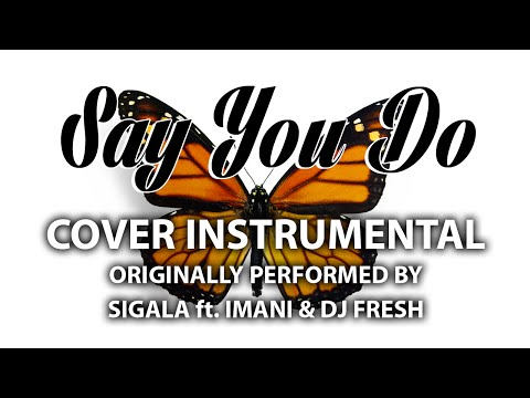 Say You Do (Cover Instrumental) [In the Style of Sigala ft. Imani & DJ Fresh]