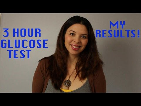 3 Hour Glucose Test Results - Glucose Test During Pregnancy - Pregnancy Update