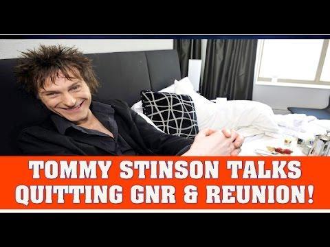 Guns N' Roses News  Tommy Stinson Talks Quitting GNR & Reunion