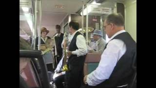 """Five Foot Two Eyes of Blue"" - West End Jazz Band (Train to Hudson Lake - Fall 2008)"