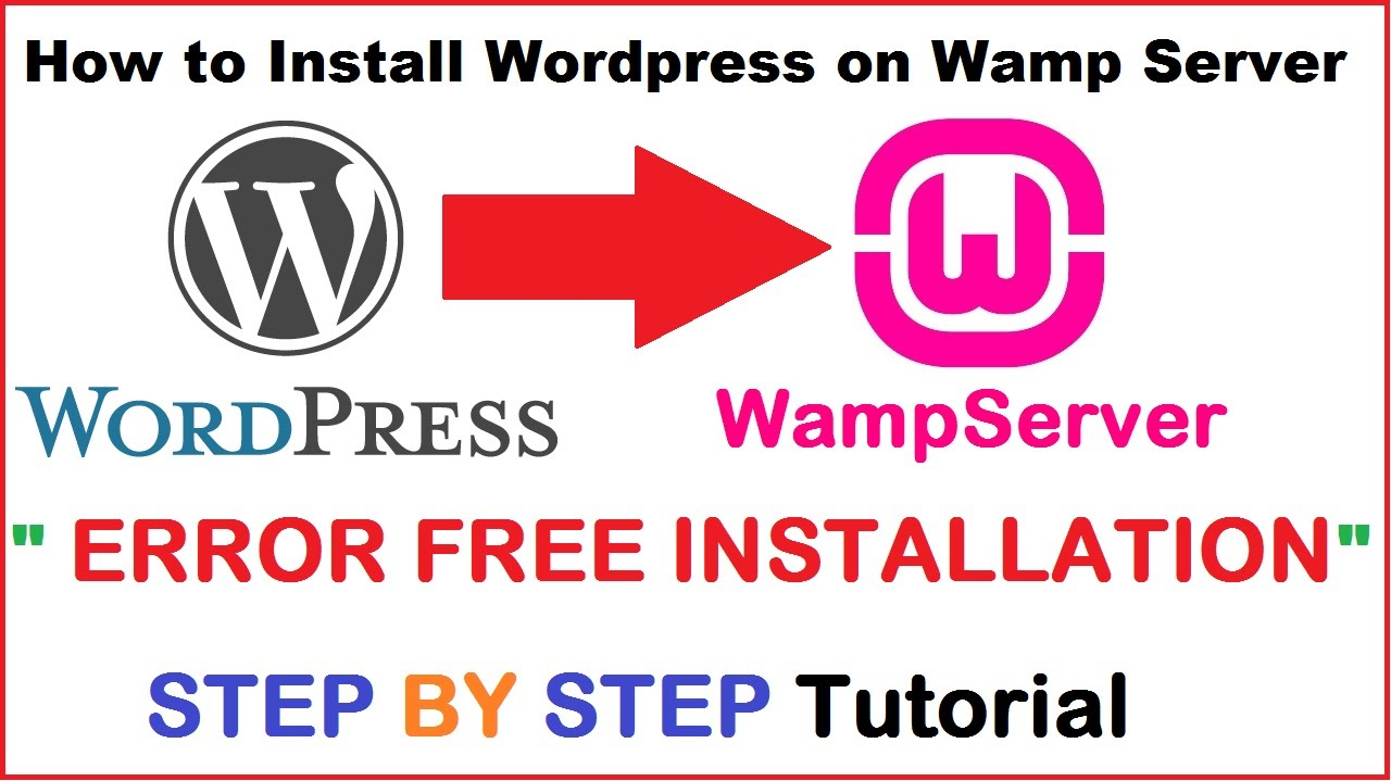 Wordpress website tutorial how to install wordpress locally on wordpress website tutorial how to install wordpress locally on wamp server step by step tutorial baditri Gallery