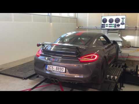 Leistungs - Messung und Steigerung  Porsche Cayman powered by JUBU Performance