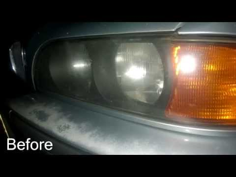 Cleaning Headlights With Baking Soda