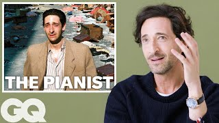 Adrien Brody Breaks Down His Most Iconic Characters   GQ