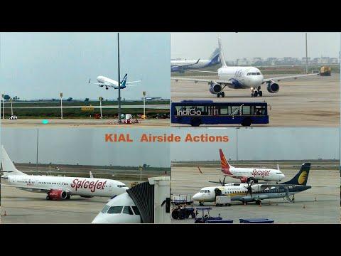 Bangalore Kempegowda International Airport ( KIAL )  Awesome Takeoff Arrivals Pushbacks