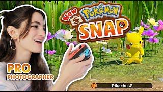 Pro Photographer Plays New Pokemon Snap