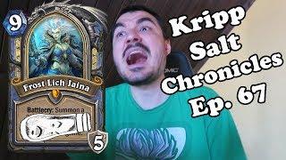 Kripp - Salt Compilation [Ep. 67] Hero cards in arena [Hearthstone, best moments]