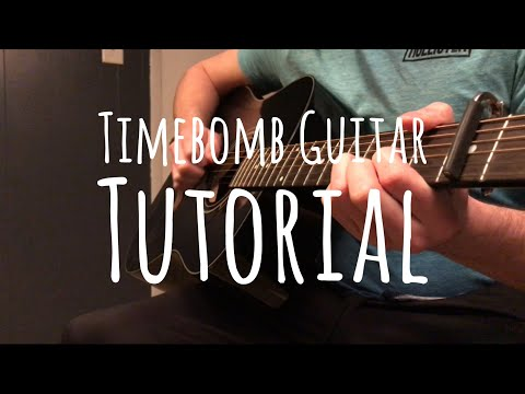 WALK THE MOON - Timebomb | Guitar Tutorial