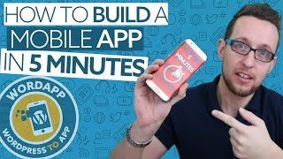 Convert WordPress to a mobile app in 5 Minutes with WordApp thumbnail