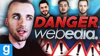 WEBEDIA ET SES DANGERS... ⚠️ (Deathrun ft. Gotaga, Mickalow, Doigby)