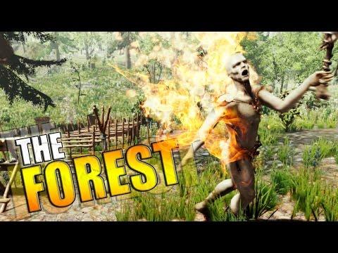 FLECHAS DE FUEGO !! - The Forest | Fernanfloo