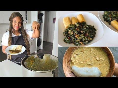3 MUST TRY Vegan African Food Recipes [Best Egusi Okra Soup]