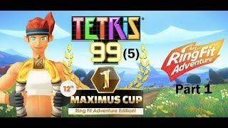 Playing Tetris 99 5 -part 1