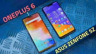 Asus ZenFone 5Z vs OnePlus 6 | Camera, Performance, Battery, and More Compared