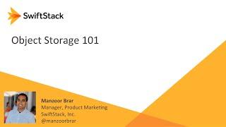 Object Storage 101