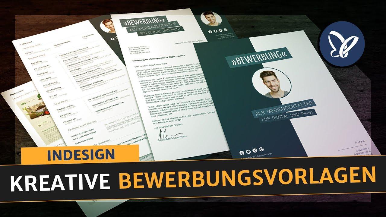 Vorstellung: Sieben Bewerbungsvorlagen für InDesign - modern ...