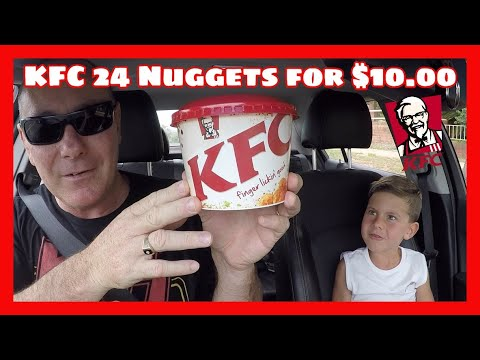 KFC 24 Nuggets For $10.00!!!!