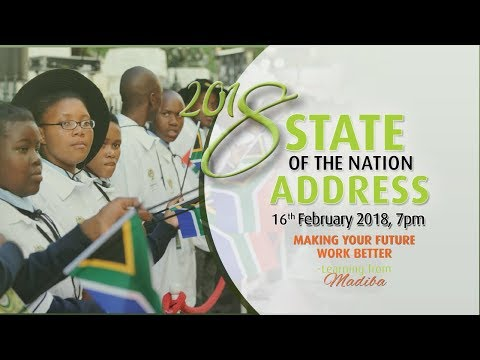 State-of-the-Nation Address by President of the Republic of South Africa