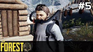 The Forest PL Gameplay [#5] ODDYCHARKA Możemy iść do NOWYCH Miejsc /z Skie