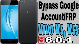Bypass Google Account Vivo V5, V5s | One Click Remove FRP 6.0.1