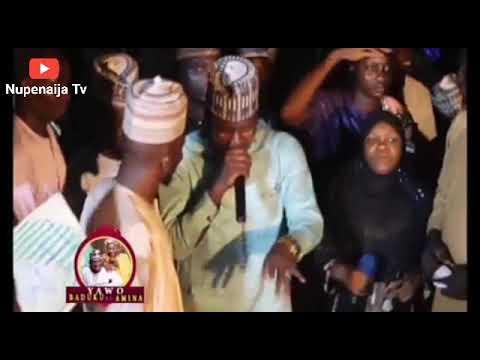 Download Prince MK ft Amina Singer - Yawo Ladan Baduku official Audio + Video   Baduko Wedding   Nupe songs
