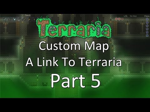 Terraria: A Link To Terraria — Part 5 — Water Temple!