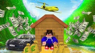 Minecraft: DESAFIO DA BASE 100% SEGURA CONTRA TSUNAMI DE RIQUEZA !! ‹ DENGOSO ›